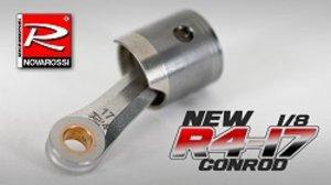 07006/17 - Novarossi Pleuel 3,5ccm Mito WC R4-17 (neue Version)