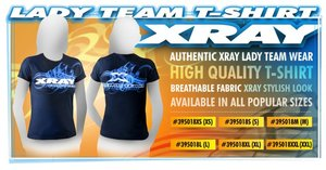 395018XL XRAY LADY TEAM T-SHIRT (XL)