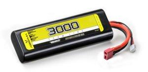 4140001 - LiPo Stick Pack 7.4V-30C 3000 Hardcase (T-Plug) - ABSIMA