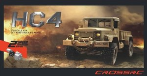 CR-HC4 CROSS-RC Truck HC4 4x4 Kit 1:10