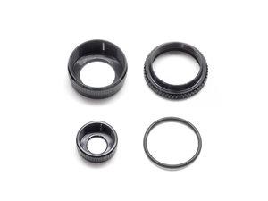 T048 - Infinity Shock Cap Low Cap Adjustable Nut Set