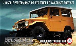 Z-RTR0029 RC4WD GELANDE II RTR TRUCK KIT W / CRUISER BODY SET